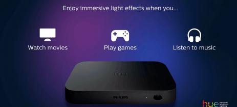 Philips Hue anuncia box de TV HDMI que muda iluminação conforme o que você assiste