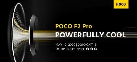 POCO F2 Pro teve seu lançamento global confirmado para o dia 12 de maio