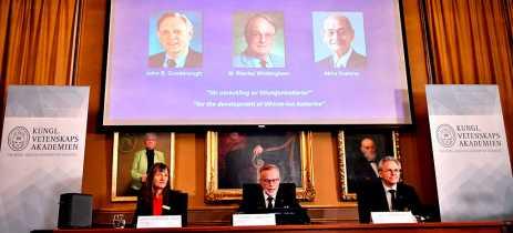 Cientistas que criaram bateria de íons de lítio recebem Prêmio Nobel de Química