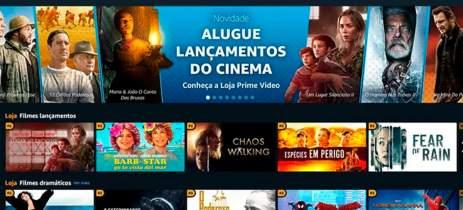 Prime Video: Amazon lança loja para locação de filmes online