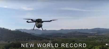 Drone Quaternium HYBRiX 2.1 bate recorde voando por incríveis 8 horas e 10 minutos
