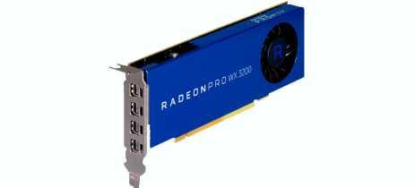 AMD anuncia Radeon Pro WX 3200, GPU compacta voltada para uso profissional de CAD