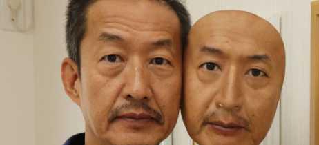 Real-F  é a empresa japonesa que faz máscaras em 3D extremamente realistas