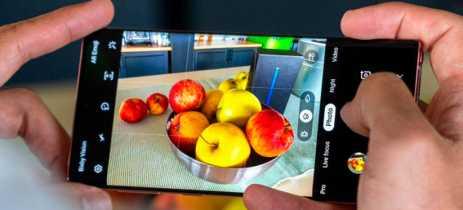 Samsung Galaxy Note 10 e A90 agoram suportam Google ARCore