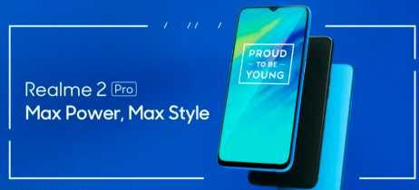 Oppo anuncia smartphone Realme 2 Pro com snapdragon 660 e até 8+128GB de memória