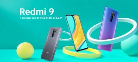 Xiaomi Redmi 9 é lançado no Brasil por R$ 1,9 mil com bateria gigante de 5020mAh