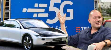 Resumo Conectado: adeus de Jony Ive, teste do 5G e o carro movido a energia solar