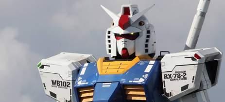 Robô Gundam de 18 metros será inaugurado em Yokohama no dia 19 de dezembro