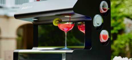 Barsys cria barman robô que pode preparar seus coquetéis favoritos em sua casa
