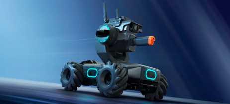 DJI lança RoboMaster S1, robô educacional que ensina física, matemática e programação