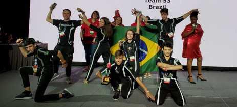 Performance de robôs de Blumenau se destaca em campeonato mundial de robótica