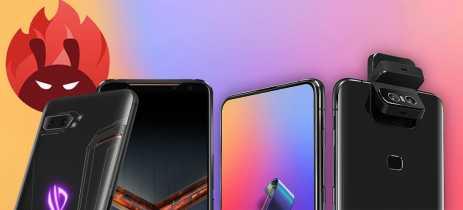 Asus ROG Phone 2 e ZenFone 6 são os mais rápidos do mundo de acordo com Antutu