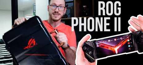 SMARTPHONE GAMER FINAL? Jogamos como ROG PHONE II e testamos seus acessórios!