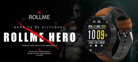 Rollme Hero Pro pode ser o primeiro smartwatch com Qualcomm Snapdragon Wear 4100+