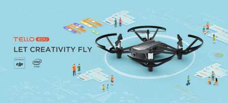 Ryze anuncia o Tello EDU, seu pequeno drone para jovens programadores