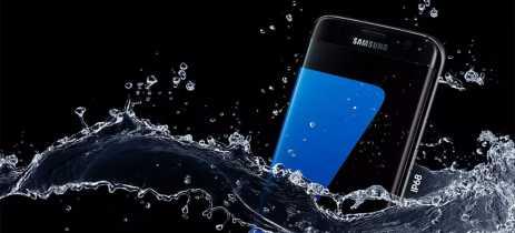 Samsung é acusada de propaganda enganosa em seus Galaxy resistentes à água na Austrália