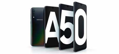 Atualização para Galaxy A50 traz Modo Noturno para fotos e vídeos super slow-motion