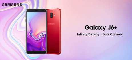 Samsung lança Galaxy J4+ e Galaxy J6+ no Brasil por R$ 1.099 e R$ 1.399, respectivamente