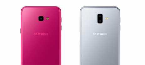 Samsung anuncia os smartphones intermediários Galaxy J4+ e J6+