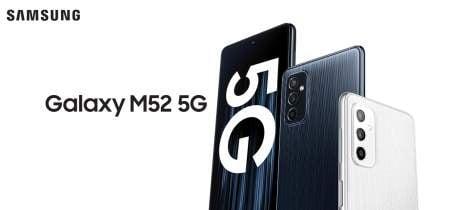 Galaxy M52 5G chega ao Brasil com chip Snapdragon 778G e bateria de 5.000mAh