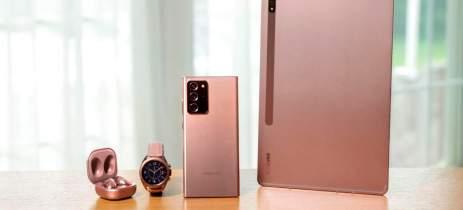 Saiba novidades do Note 20 e novos dispositivos Galaxy com registro no site da Samsung
