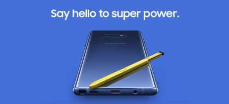 Galaxy Note 9: Samsung divulga teaser e horário do evento de lançamento