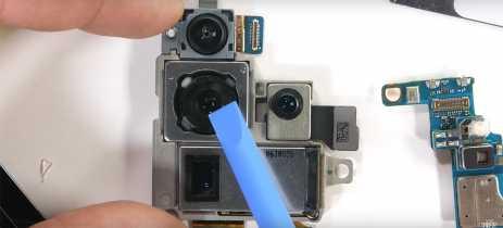 JerryRig desmonta Galaxy S20 Ultra e mostra como é seu sistema de câmera por dentro