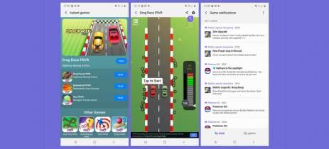 Atualização do Samsung Game Launcher adiciona Instant Games e notificações in-game