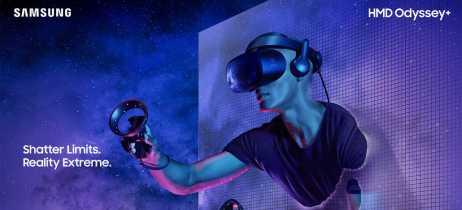 HMD Odyssey+, o novo headset VR da Samsung, promete acabar com