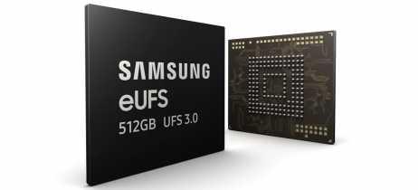 Samsung começa produção em massa do eUFS 3.0, com o dobro da velocidade do eUFS anterior