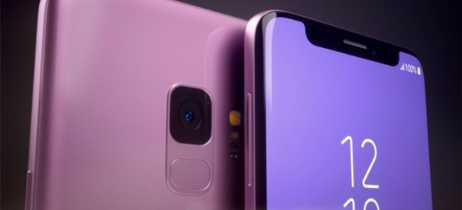 Galaxy com notch aparece em suposta patente da Samsung [Rumor]