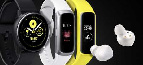 Samsung anuncia seus vestíveis no Brasil: Galaxy Watch Active, Galaxy Buds e Galaxy Fit e
