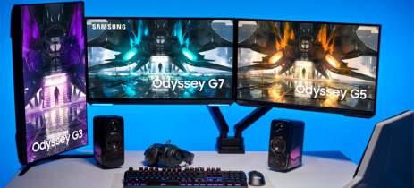 Samsung anuncia novos monitores da linha Odyssey, desta vez sem tela curva