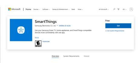 Samsung lança nova aplicativo SmartThings para IoT no Windows 10