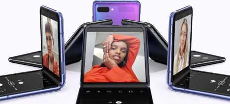 Teste mostra que a tela de vidro do Galaxy Z Flip não é muito durável