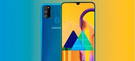 Samsung anuncia Galaxy M30s, smartphone com6000mAh e câmera tripla de 48MP