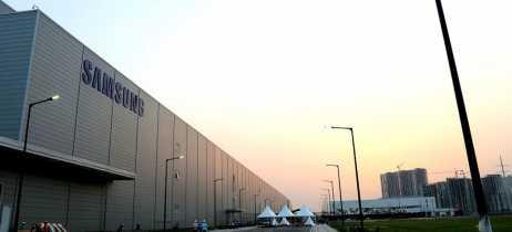 Samsung abre maior fábrica de smartphones do mundo na Índia
