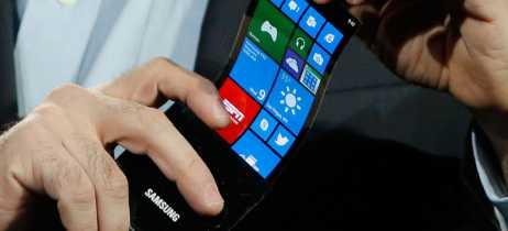 Produção de tela OLED dobrável da Samsung deve ser inciada em breve