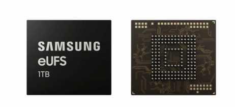 A Samsung anunciou que vai começar a produzir em massa chips eUFS de 1TB para smartphones