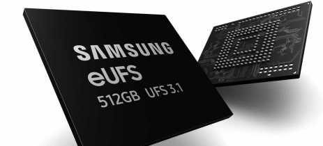 Samsung inicia produção em massa de eUFS 3.1, 60% mais rápido que eUFS 3.0