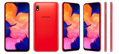 Samsung apresenta Galaxy A10 com uma câmera traseira de 13MP e display Infinity-V