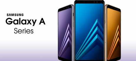 A Samsung irá renovar a linha Galaxy A em 9 modelos com telas Infinity-O e Infinity-V