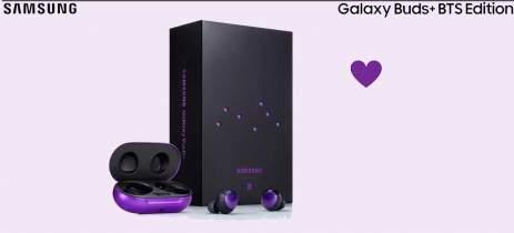 Samsung começa as vendas do Galaxy Buds+ BTS Edition por R$1.399 no Brasil