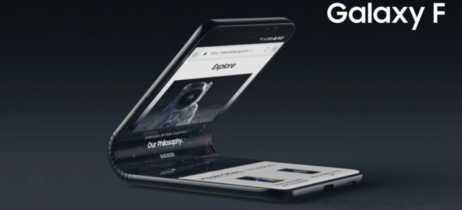 Smartphone dobrável Samsung Galaxy F deve trazer novo Infinity-V Display