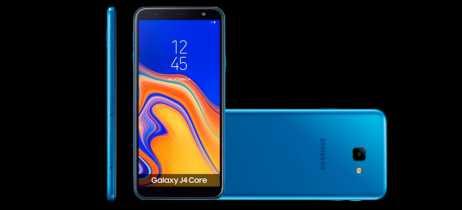 Samsung anuncia Galaxy J4 Core, seu novo smartphone de entrada; confira suas especificações