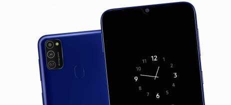 Samsung anuncia Galaxy M21 com 6.000mAh de bateria e câmera tripla