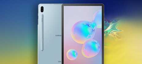 Galaxy Tab S6 estará disponível a partir de US$649 no dia 23 de agosto