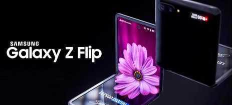 Samsung pode ter revelado oficialmente o design do Galaxy Z Flip