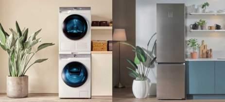 Nova geladeira e lavanderia com IA da Samsung têm foco em economia de energia