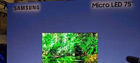 Samsung Micro LED chega com a promessa de ter uma TV exatamente como você quer